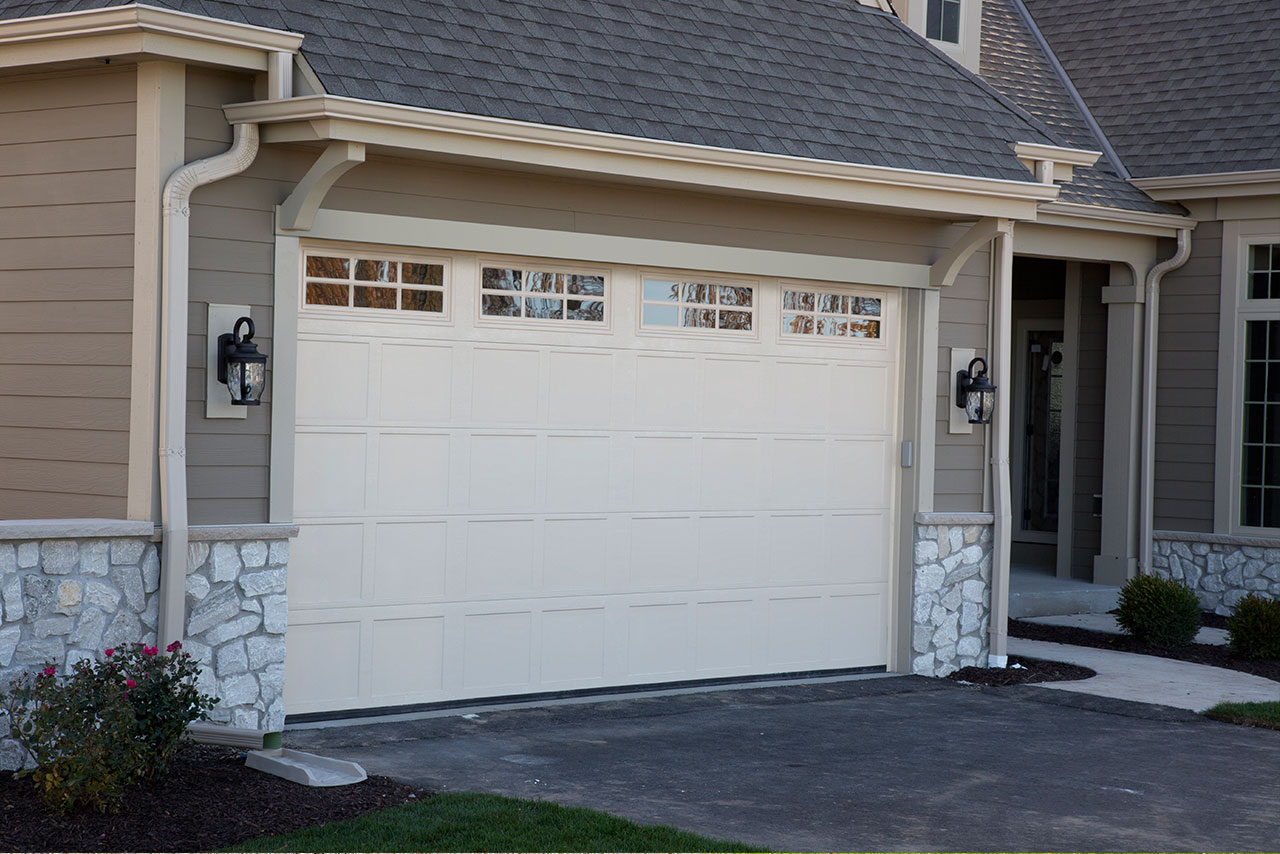 uninsulated 2400 series steel garage door